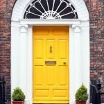 90 Awesome Front Door Colors and Design Ideas (83)