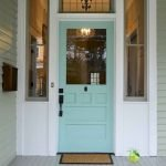 90 Awesome Front Door Colors and Design Ideas (85)