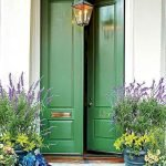 90 Awesome Front Door Colors and Design Ideas (87)