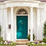 90 Awesome Front Door Colors and Design Ideas (89)