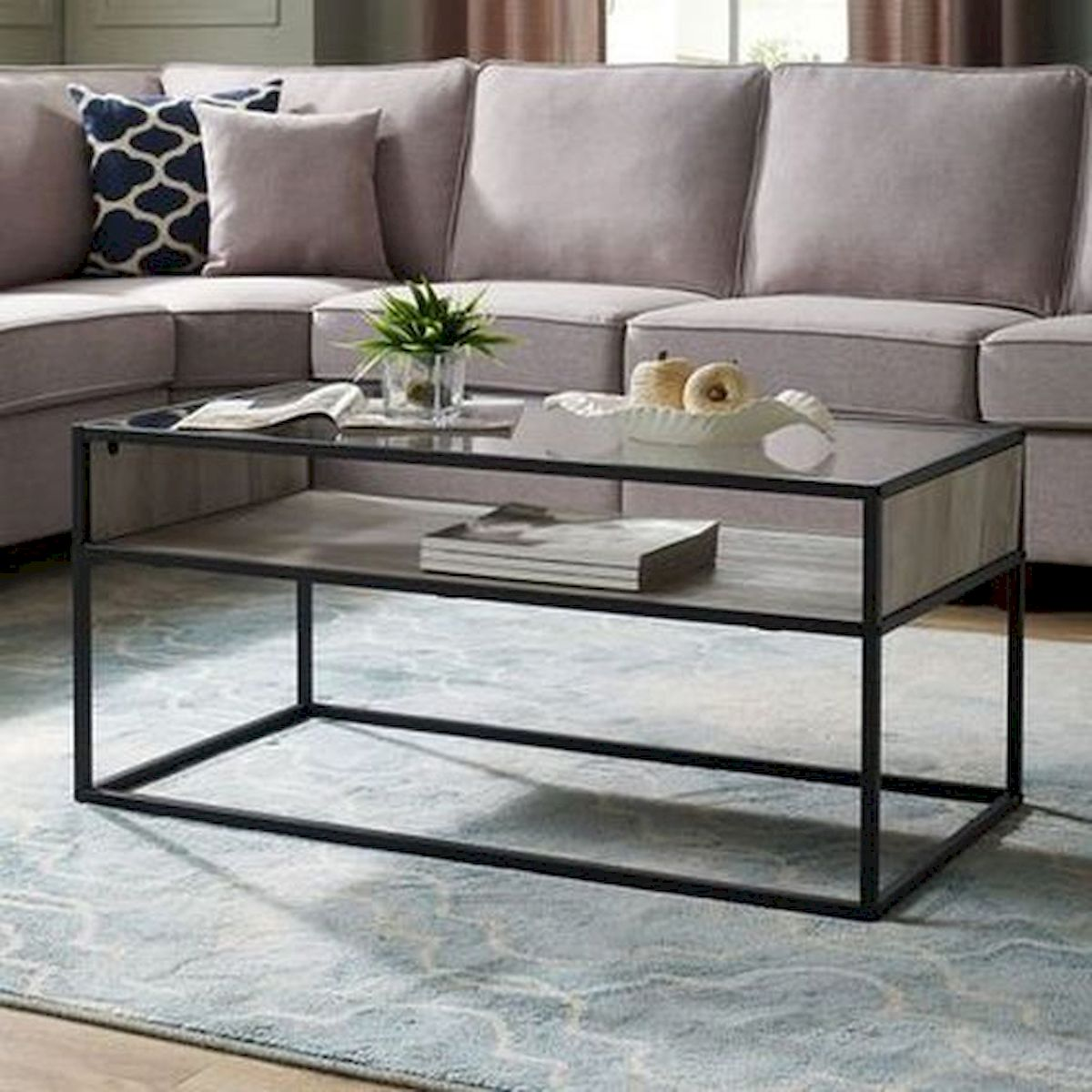 40 Awesome Modern Glass Coffee Table Design Ideas For Your