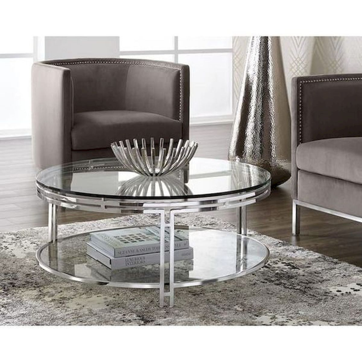 40 Awesome Modern Glass Coffee Table Design Ideas For Your Living Room (13)