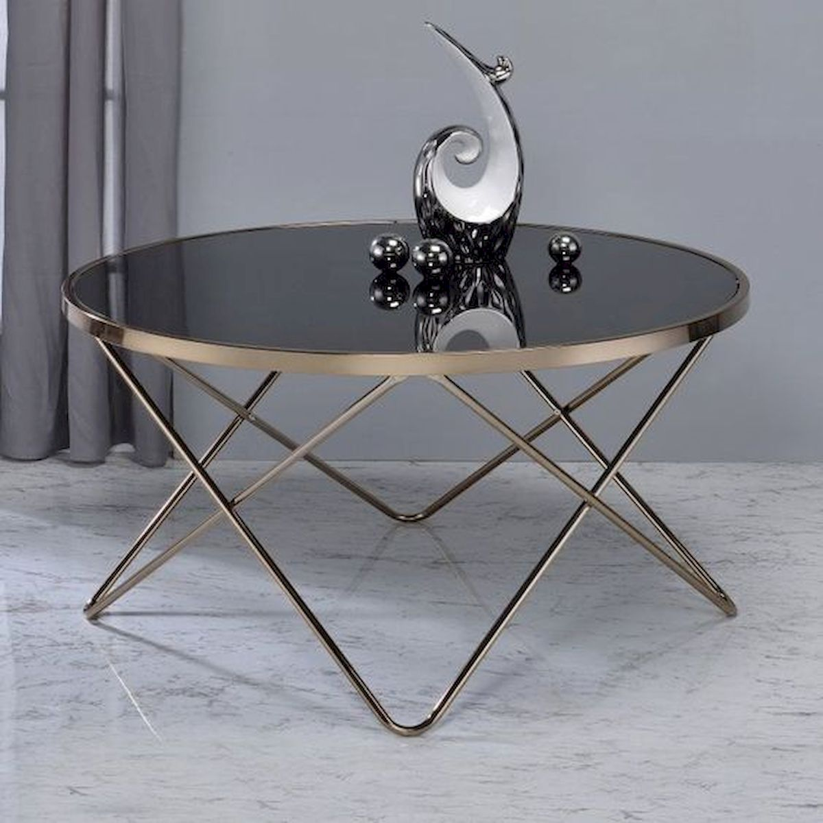 40 Awesome Modern Glass Coffee Table Design Ideas For Your Living Room (14)