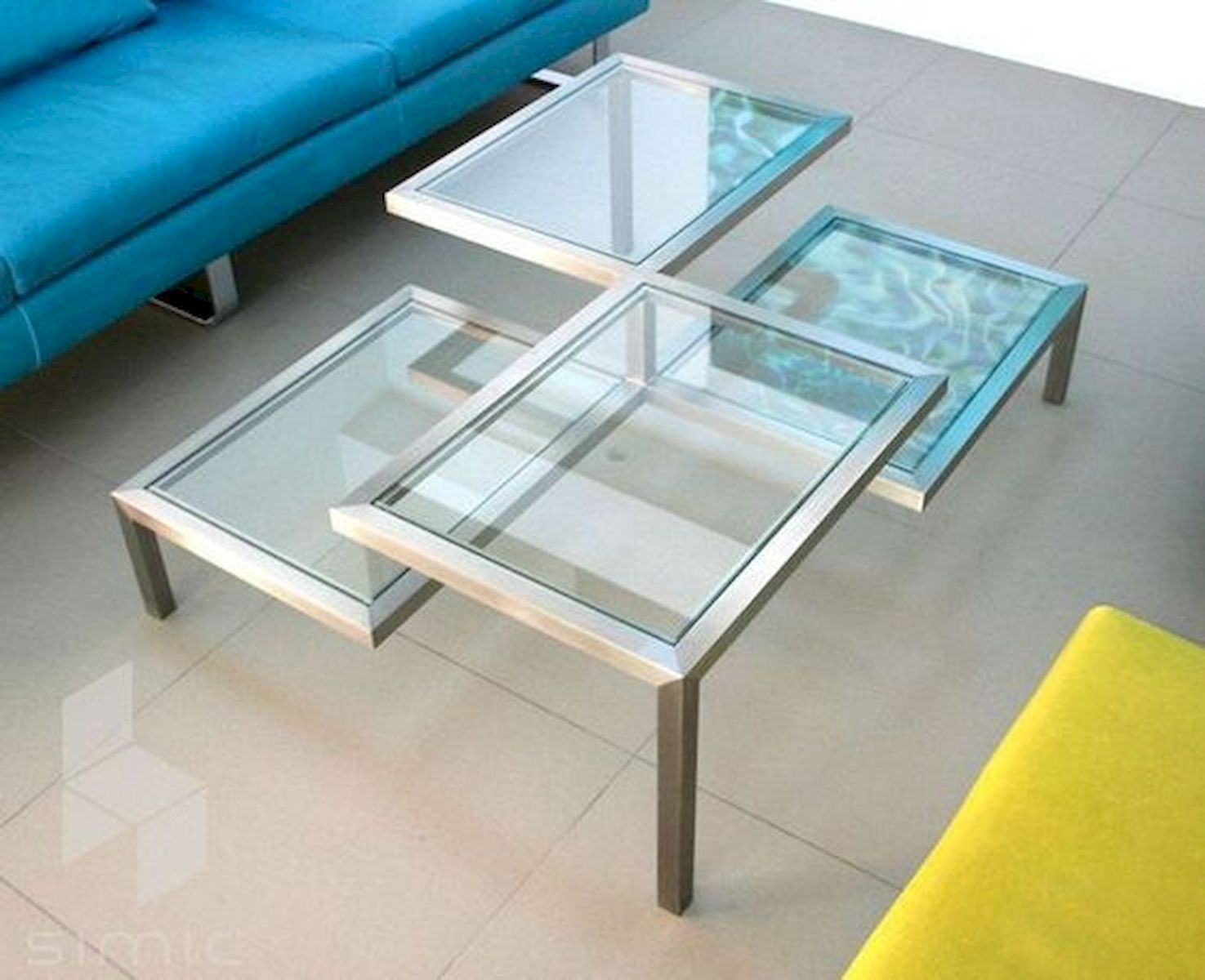 40 Awesome Modern Glass Coffee Table Design Ideas For Your Living Room (19)