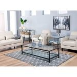 40 Awesome Modern Glass Coffee Table Design Ideas For Your Living Room (20)
