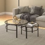 40 Awesome Modern Glass Coffee Table Design Ideas For Your Living Room (39)