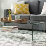 40 Awesome Modern Glass Coffee Table Design Ideas For Your Living Room (6)