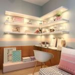 40 Cute Small Bedroom Design And Decor Ideas For Teenage Girl (12)