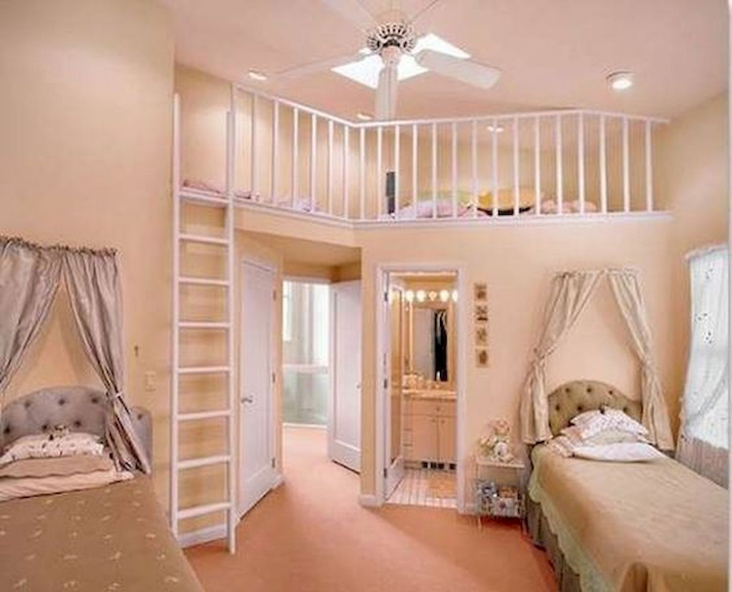 40 Cute Small Bedroom Design and Decor Ideas for Teenage Girl (29)