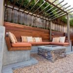 44 Amazing Backyard Seating Ideas To Make You Feel Relax (18)