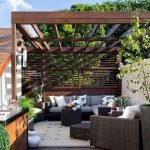 44 Amazing Backyard Seating Ideas To Make You Feel Relax (37)