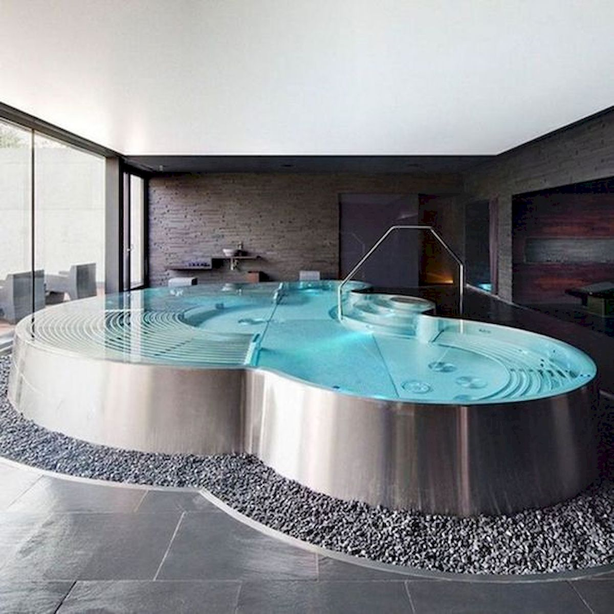 46 Fantastic Modern Swimming Pool Design Ideas (33)
