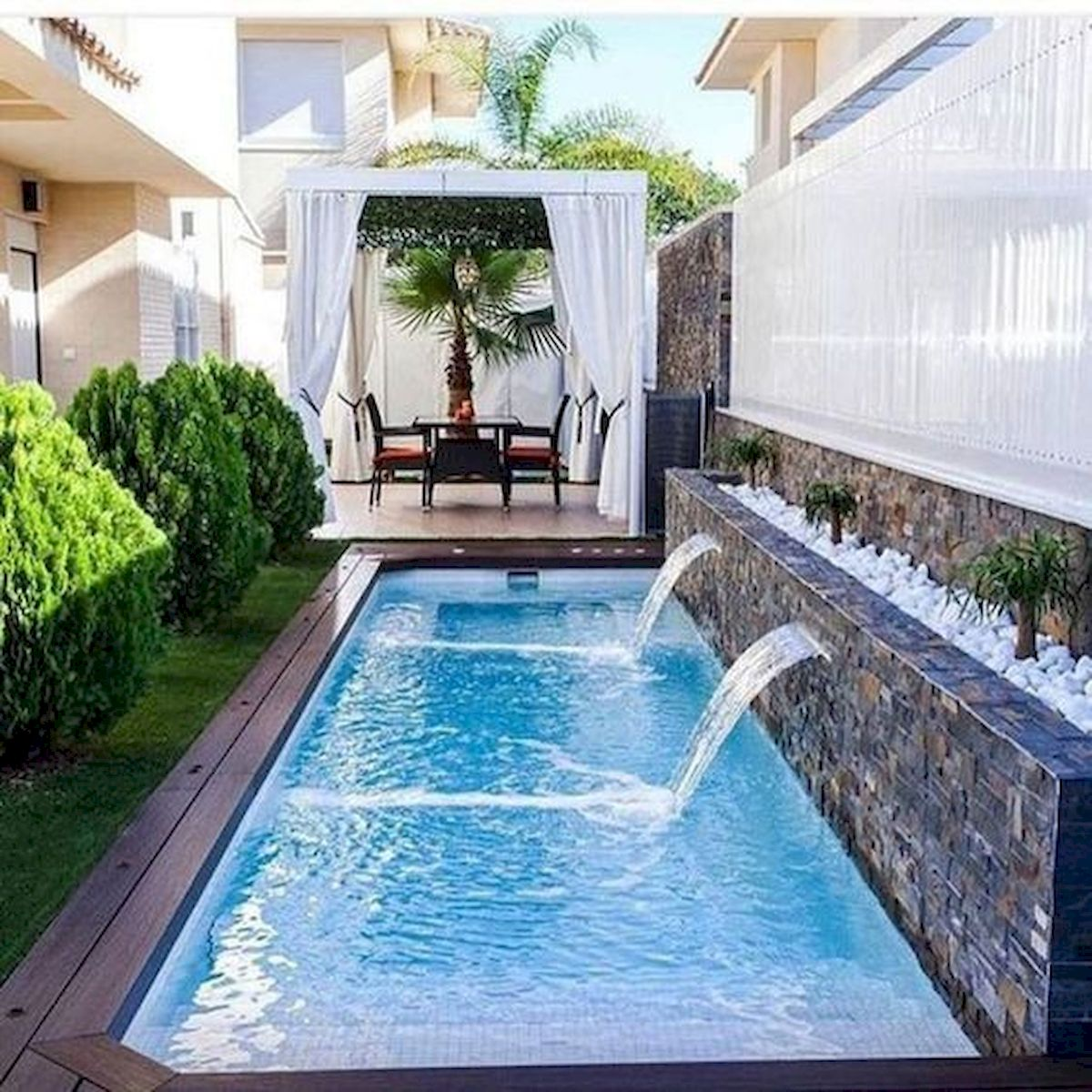 46 Fantastic Modern Swimming Pool Design Ideas (39)