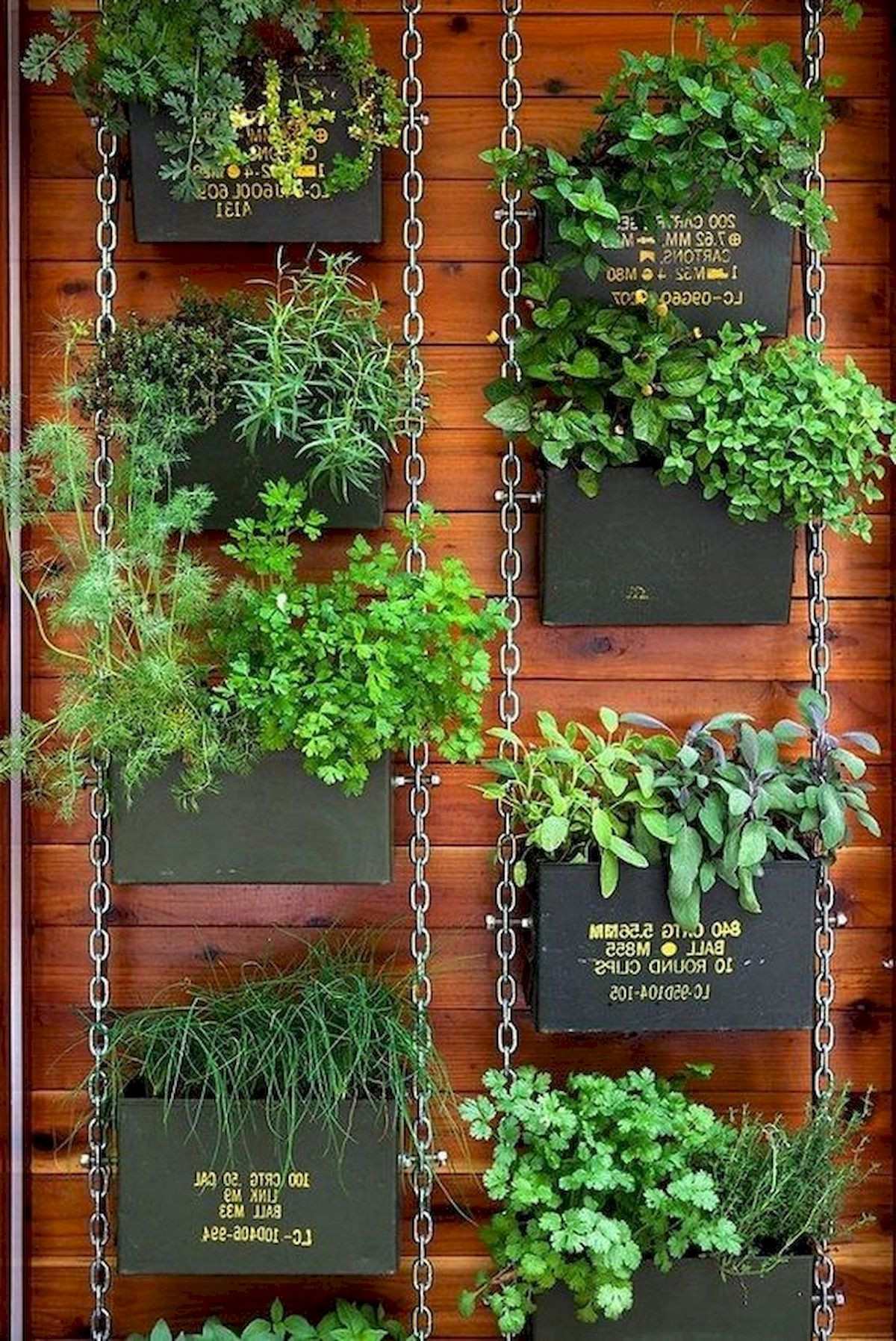 50 Awesome Modern Backyard Garden Design Ideas With Hanging Plants (31)