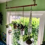 50 Awesome Modern Backyard Garden Design Ideas With Hanging Plants (40)