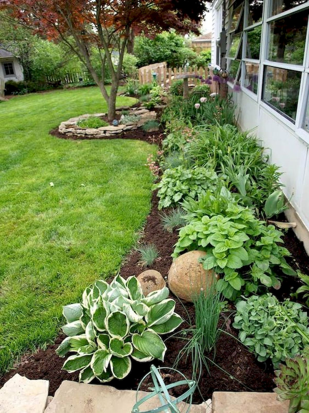 50 Beautiful Side Yard Garden Landscaping Ideas for Your House (1)