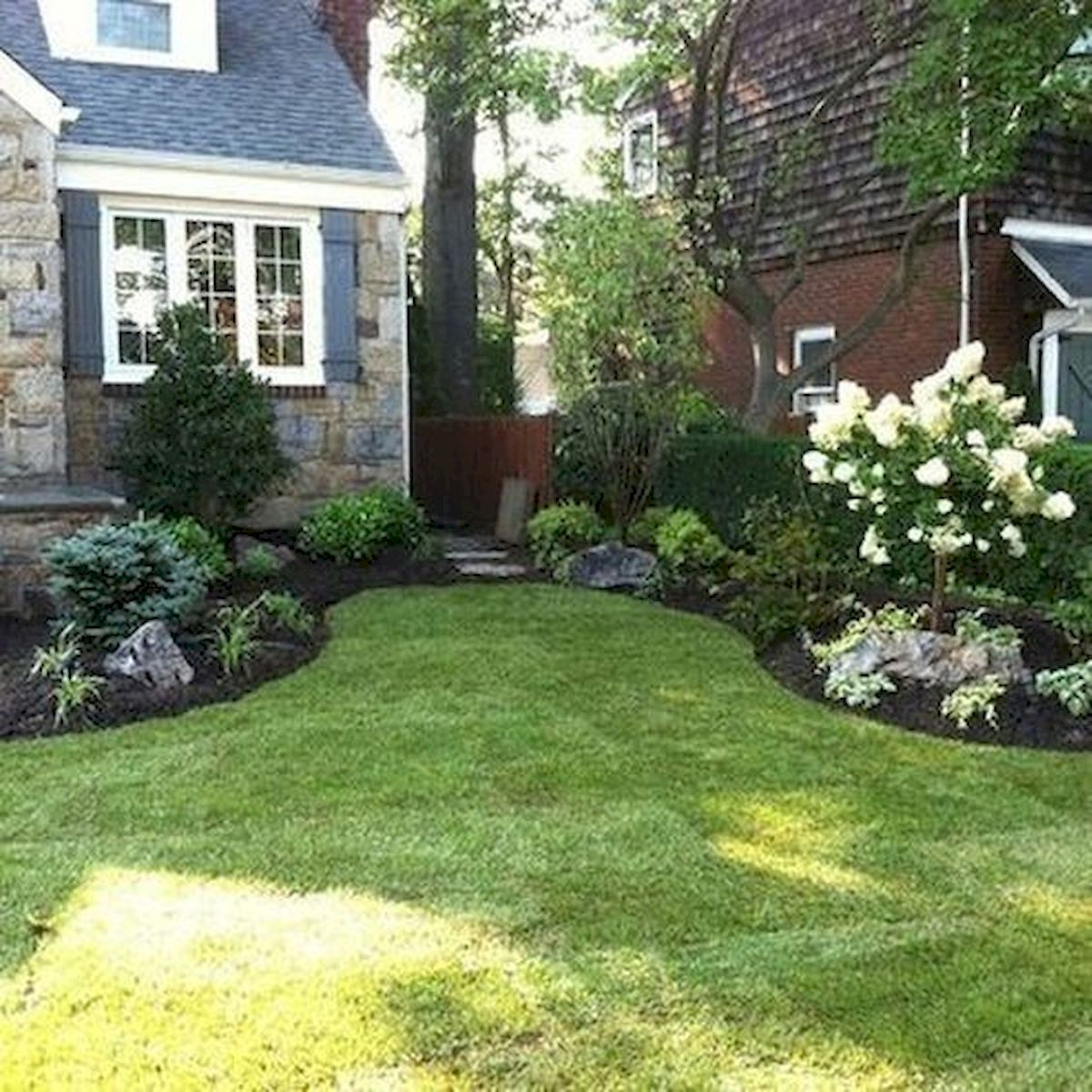 50 Beautiful Side Yard Garden Landscaping Ideas for Your House (13)