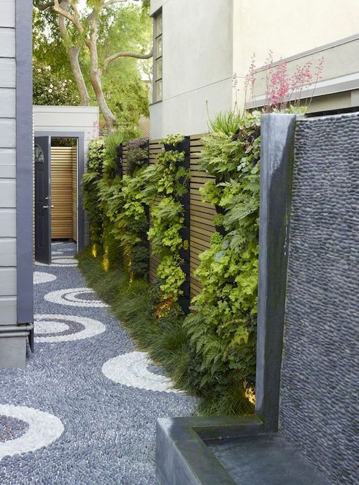 50 Beautiful Side Yard Garden Landscaping Ideas for Your House (16)