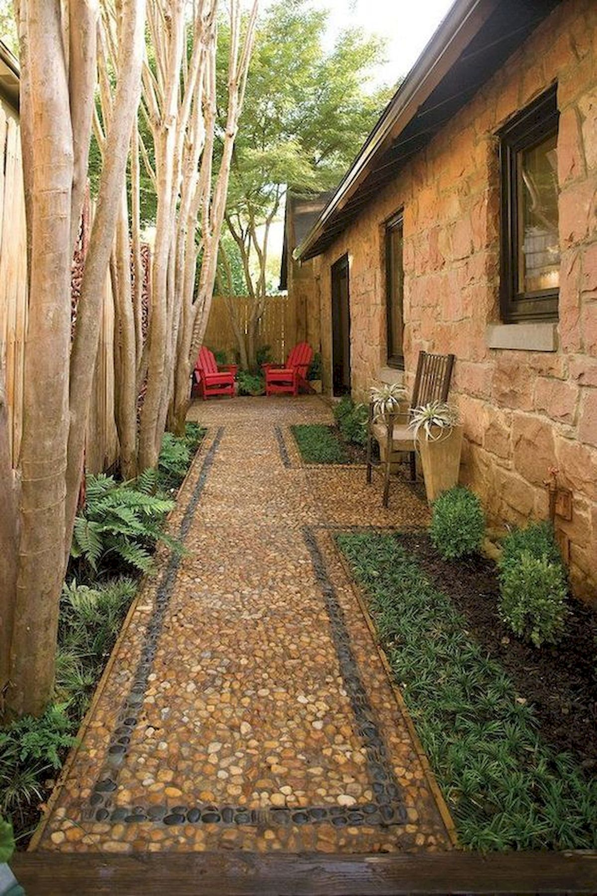 50 Beautiful Side Yard Garden Landscaping Ideas for Your House (18)
