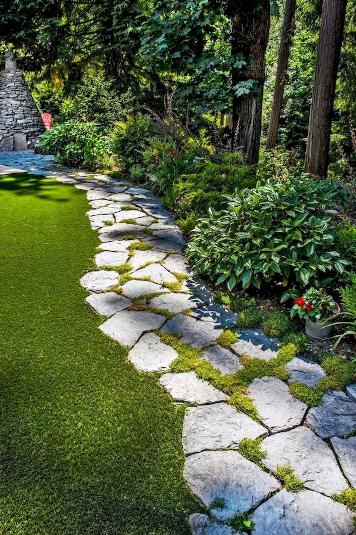 50 Beautiful Side Yard Garden Landscaping Ideas for Your House (29)