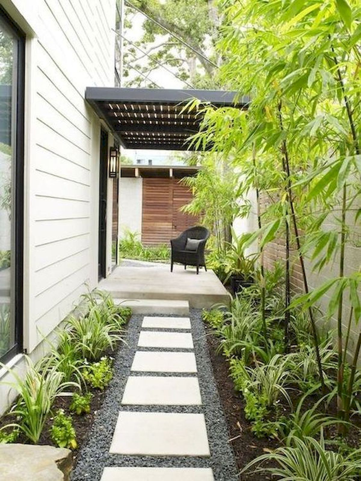 50 Beautiful Side Yard Garden Landscaping Ideas for Your House (47)