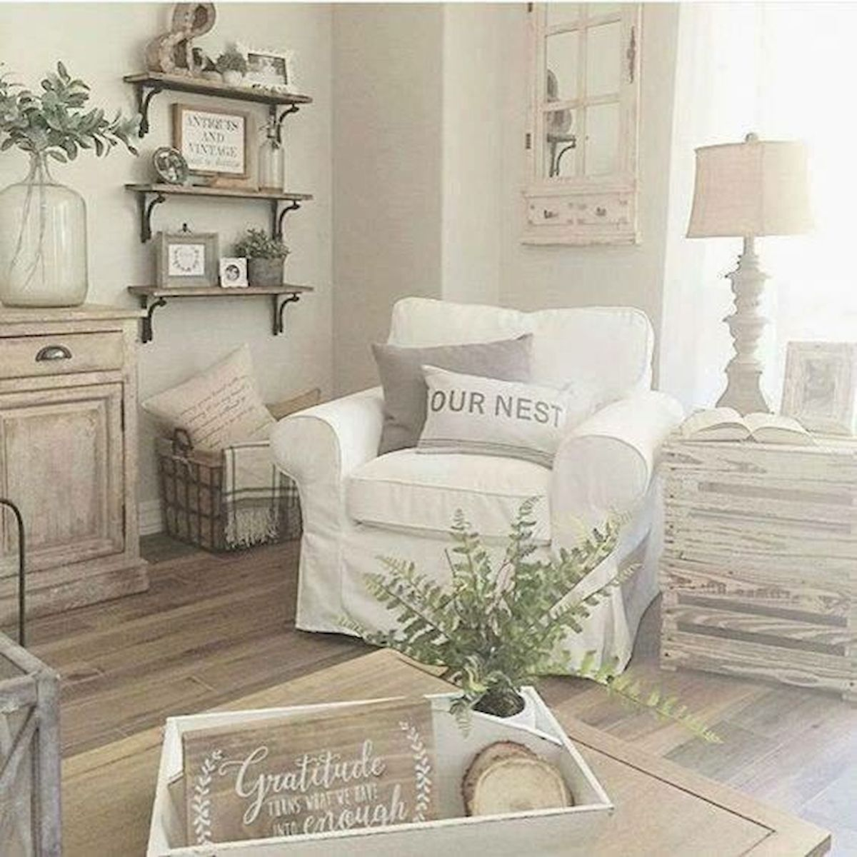 55 Fantastic Farmhouse Decor Ideas On A Budget (21)