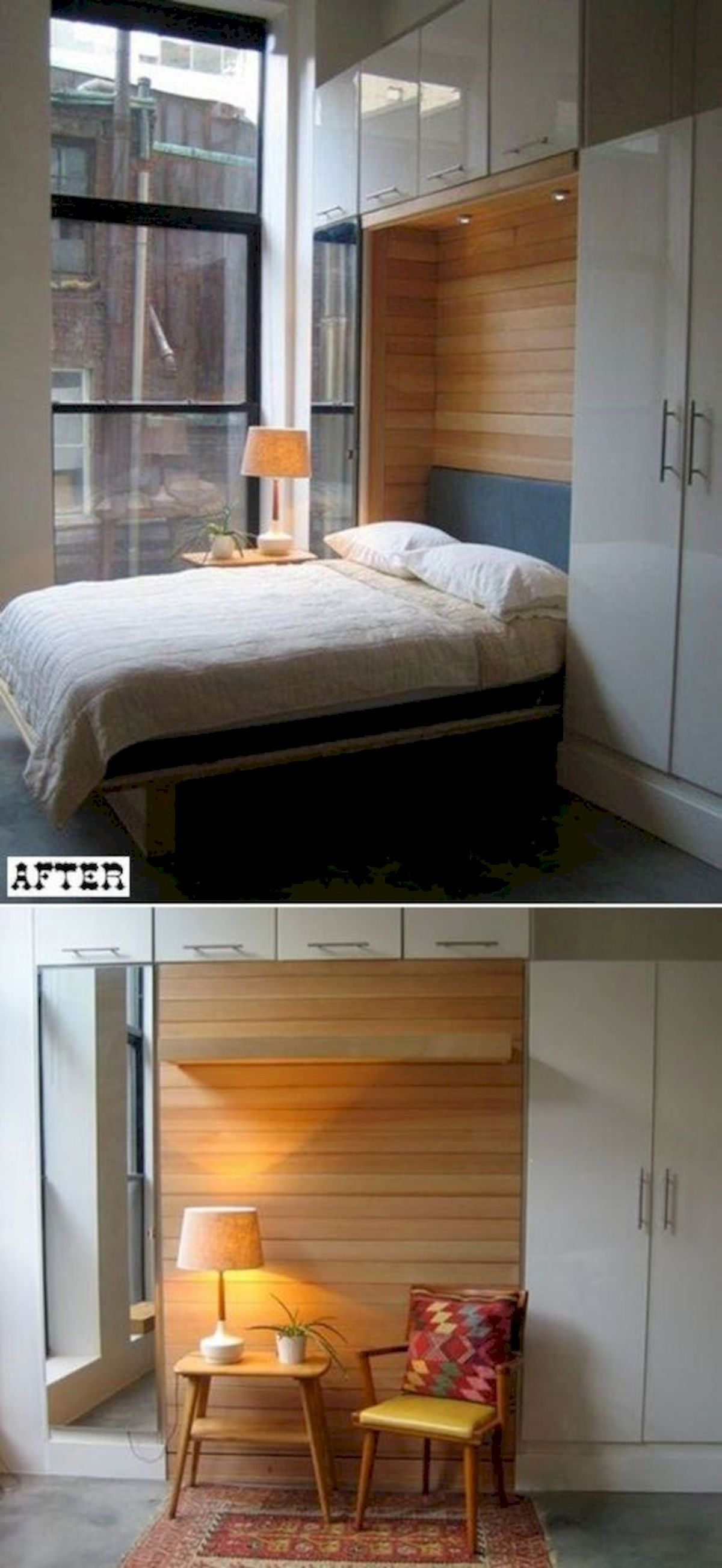 60 Brilliant Space Saving Ideas For Small Bedroom (22)