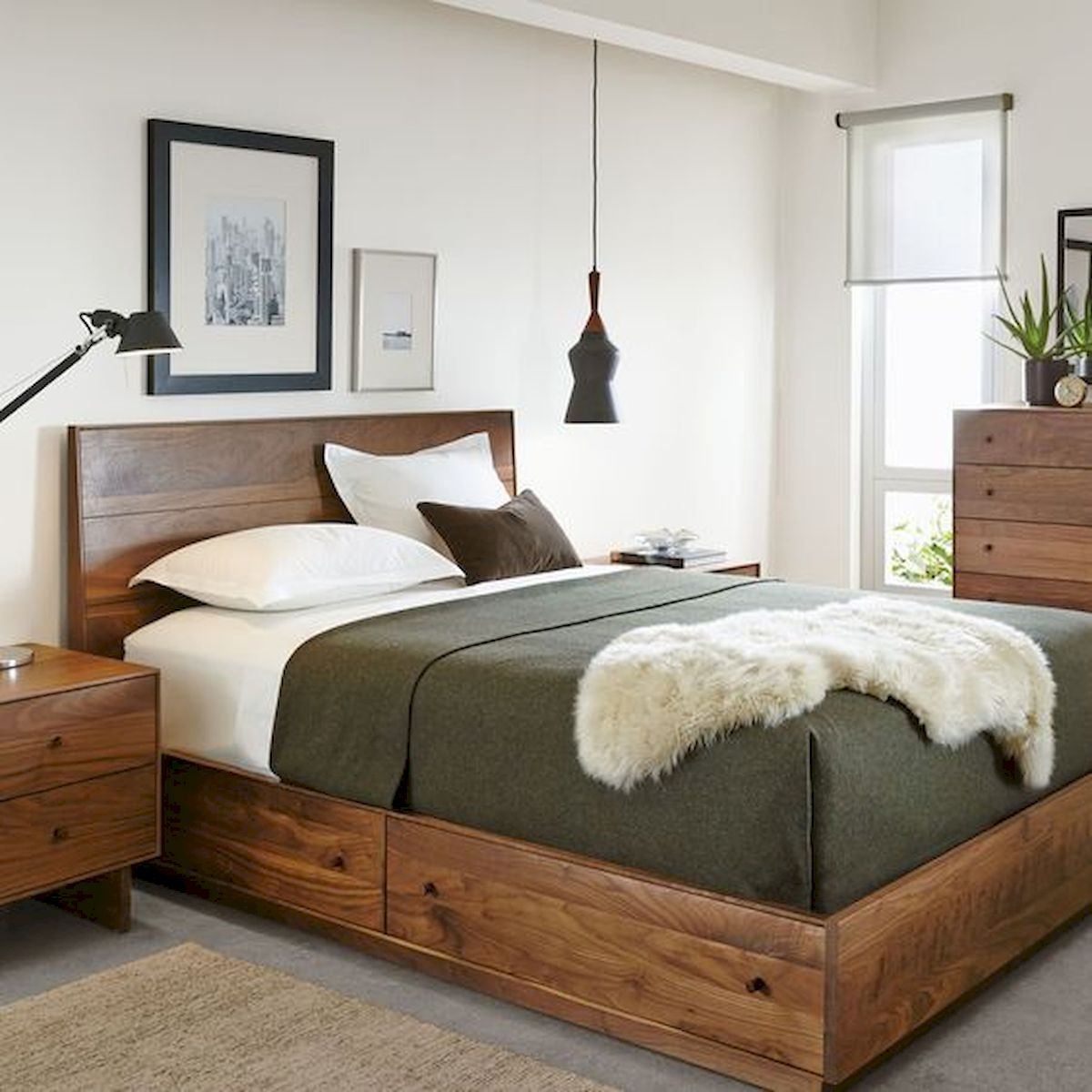 60 Brilliant Space Saving Ideas For Small Bedroom (23)