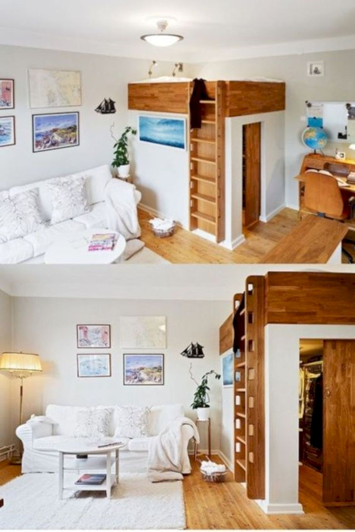60 Brilliant Space Saving Ideas For Small Bedroom (3)