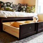 60 Brilliant Space Saving Ideas For Small Bedroom (35)
