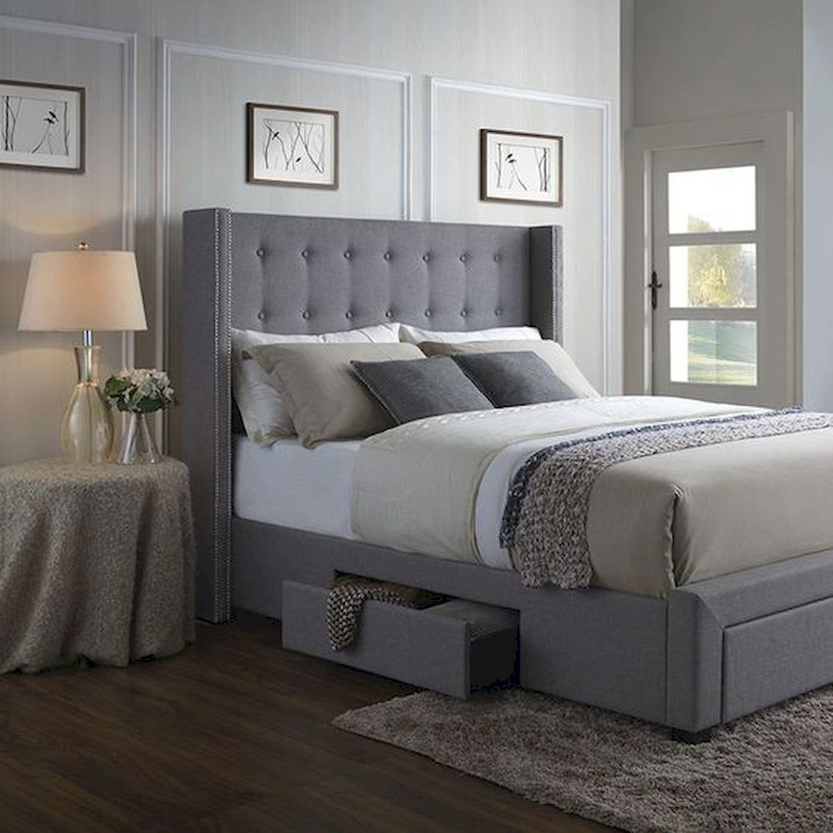 60 Brilliant Space Saving Ideas For Small Bedroom (50)