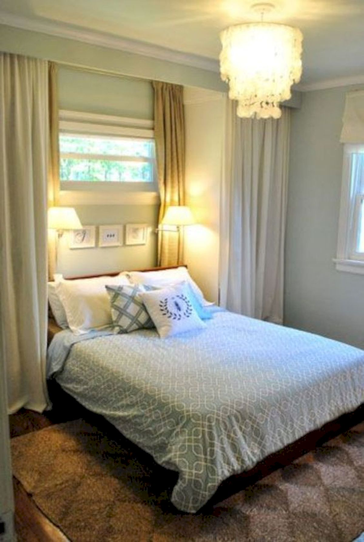 60 Brilliant Space Saving Ideas For Small Bedroom (59)