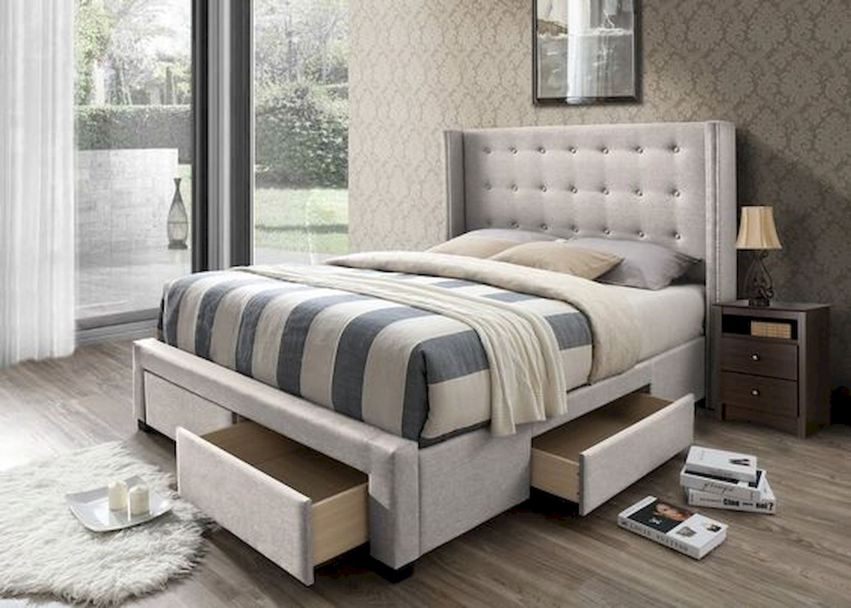 60 Brilliant Space Saving Ideas For Small Bedroom (60)