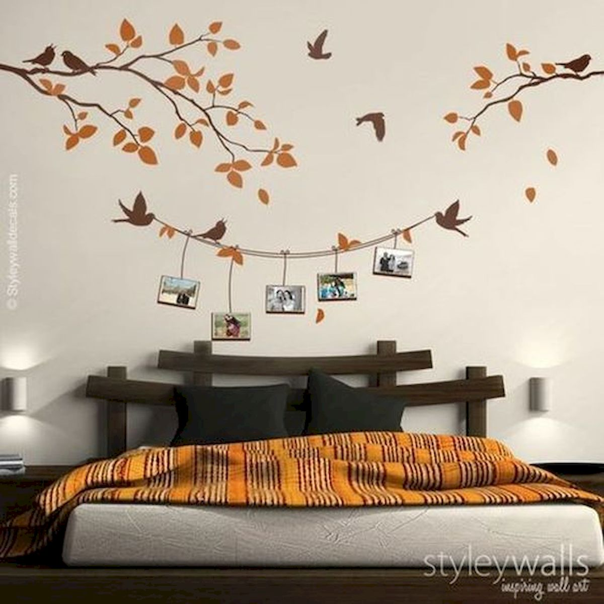 44 Awesome Wall Painting Ideas To Decorate Your Home (3)