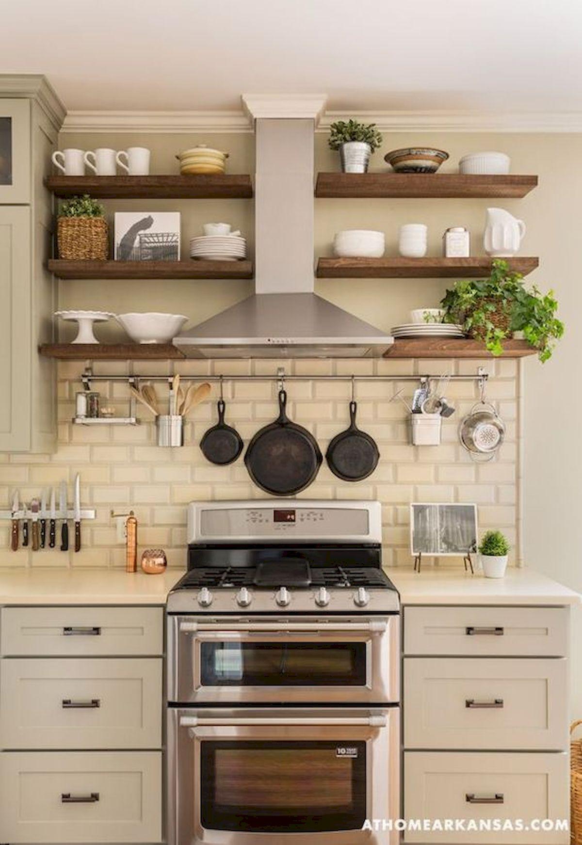 46 Easy DIY Kitchen Storage Ideas for Small Kitchen (28)