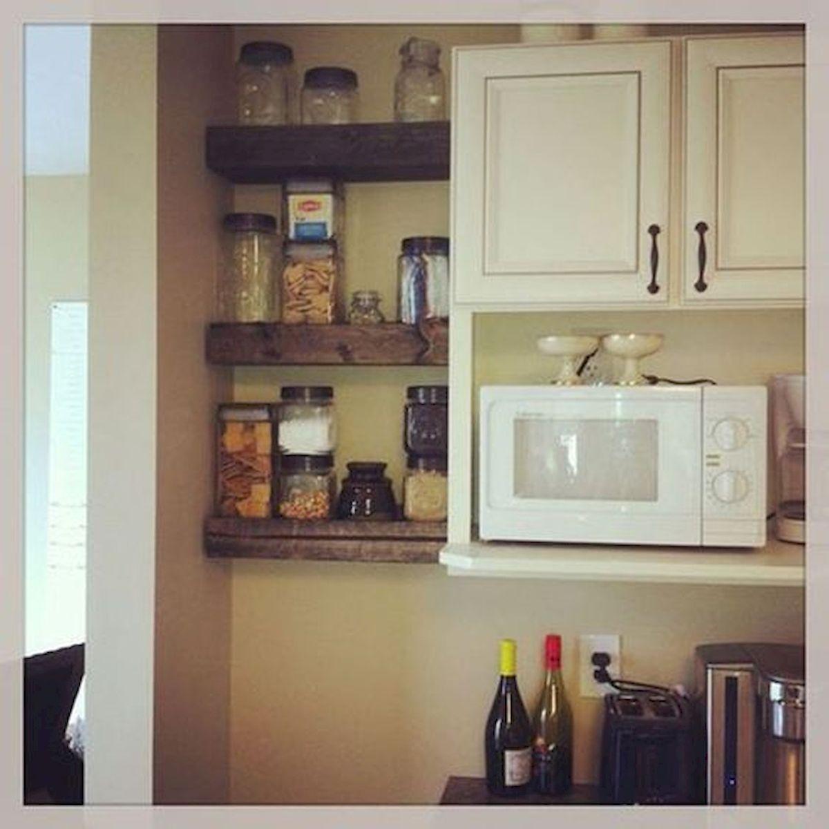 46 Easy DIY Kitchen Storage Ideas for Small Kitchen (29)