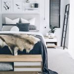 50 Amazing Modern Bedroom Decoration Ideas with Luxury Design (47)