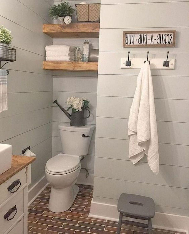 50 Awesome Modern Farmhouse Bathroom Remodel Ideas (1)