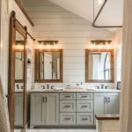 50 Awesome Modern Farmhouse Bathroom Remodel Ideas (19)