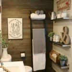 50 Awesome Modern Farmhouse Bathroom Remodel Ideas (24)