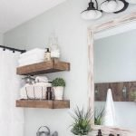 50 Awesome Modern Farmhouse Bathroom Remodel Ideas (25)