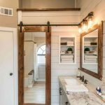 50 Awesome Modern Farmhouse Bathroom Remodel Ideas (26)