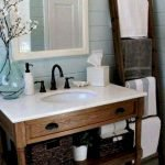 50 Awesome Modern Farmhouse Bathroom Remodel Ideas (27)