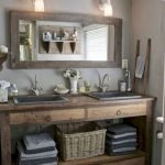 50 Awesome Modern Farmhouse Bathroom Remodel Ideas (29)