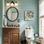 50 Awesome Modern Farmhouse Bathroom Remodel Ideas (31)