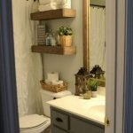 50 Awesome Modern Farmhouse Bathroom Remodel Ideas (32)