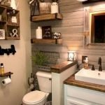 50 Awesome Modern Farmhouse Bathroom Remodel Ideas (37)