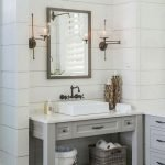 50 Awesome Modern Farmhouse Bathroom Remodel Ideas (38)