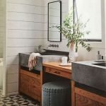 50 Awesome Modern Farmhouse Bathroom Remodel Ideas (41)