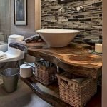 50 Awesome Modern Farmhouse Bathroom Remodel Ideas (43)